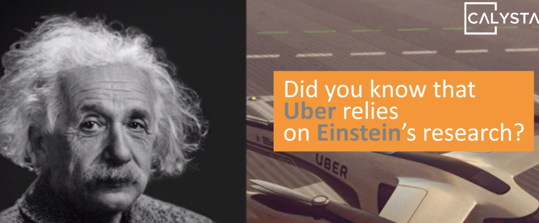 Did you know that Uber relies on Einstein's research ?