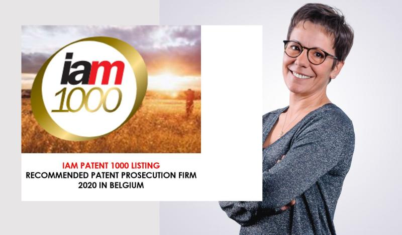 CALYSTA awarded by IAM TOP Patent Professionals