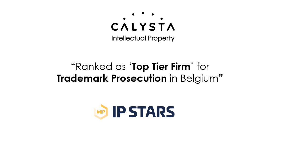 CALYSTA – Recognized and recommended by IP STARS (Managing IP)